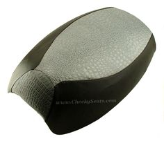 Yamaha Vino 125 Scooter Seat Cover Grey Crocodile | Scooter Seat Covers