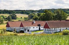 A farmhouses in Skåne