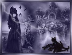 Gothic Art, Psp, Creepy, Cool Stuff, Image, Art, Gothic Artwork