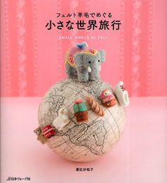 "Japanese craft book ""Felt wool"" #48460 by Sachiko Susa http://www.amazon.com/dp/B004P1LCM0/ref=cm_sw_r_pi_dp_kP9Xtb1QVZQ2VV1C"
