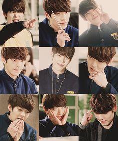 Kim Woo Bin school 2013