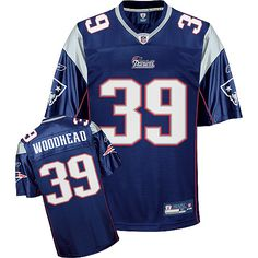 Reebok New England Patriots Danny Woodhead 39 Blue Replica Jerseys Sale
