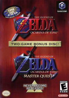 The Legend of Zelda: Ocarina of Time / Master Quest (Gamecube)