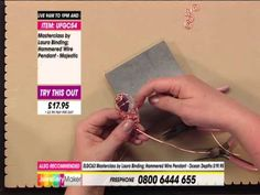 JewelleryMaker Master Class with Laura 21/10/13. Please note, this is a recording of a live program. Items may be sold out. Please call Jewellery Maker custo...