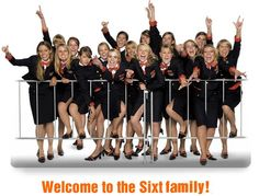 Welcome to the Sixt family!