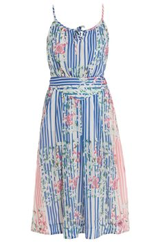 Printed Mid Length Dress By PAUL