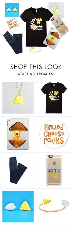 """""""I love Grilled Cheese"""" by sonya-bernhart on Polyvore featuring I Am Acrylic, Casetify and Nach"""
