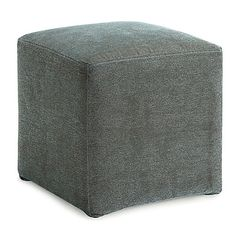 Go bold and create a stylish, yet functional space with the Axis Cube Ottoman from Dwell Home. This gorgeous cube features a simple, classic design that goes great with any décor. Use it for additional seating or as a footrest when it is time to relax.