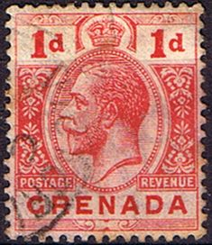 Grenada 1913 King George V Head SG 91 Fine Used SG 91 Scott 90a Other King George Stamps HERE