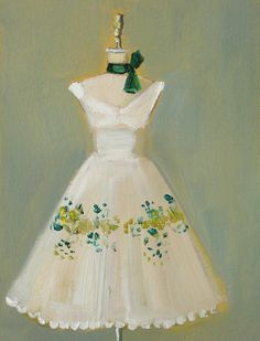 Green Acres Dress Janet hill