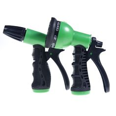 $9.5 - 2 Pack Garden Hose Nozzle Water Sprayer Nozzle 8 Spray Patterns + Connector #  sc 1 st  Pinterest : nozzle for garden hose - www.happyfamilyinstitute.com