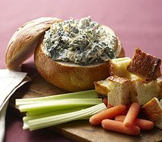 MyPanera Recipe: A Spinach Artichoke Dip in a Bread Bowl