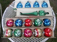 nice vintage clean lot of 1950s 1960s SHINY BRITE by score571, $79.00
