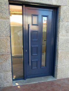 TEMPO LIRA Aluminio lacado #indupanel #paneles #puertas #aluminio #pvc #puerta #aluminium  #doors #chalet #decoration #decoracion #hogar #classic #clasica #lacado #madera