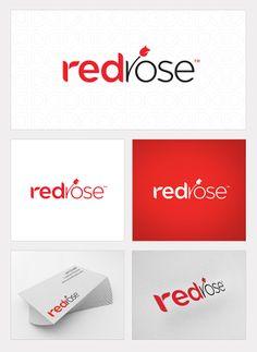 Premium Red Rose Logo for Start Ups!