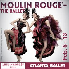 Get up close and personal with the bohemian world of Paris in its heyday and the spiritual birthplace of the Cancan – Moulin Rouge, the most famous cabar