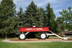8. Take your new legendary Facebook profile pic at the World's Largest Radio Flyer in Riverfront Park!