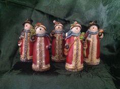 Santa Snowmen!