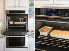 Amazing kitchen with double ovens with proofing setting so you can let your bread rise in one and preheat the other for baking at the same time.