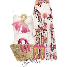 Stylish EveStylish Eve Outfits 2013: Quick and Stylish Floral Maxi Skirts