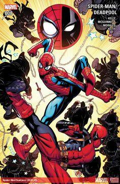Image: Spider-Man / Deadpool by Kelly & McGuinness HC - Marvel Comics Deadpool Und Spiderman, Deadpool 2016, Batman, Parker Spiderman, Marvel E Dc, Marvel Universe, Marvel Avengers, Ultimate Spider Man, Spideypool