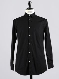 Shirt 6 in Black by MONOKROM by APLACE - APLACE Fashion Store & Magazine