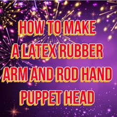 A step by step guide to create a mold and pour a latex puppet head. Arm and rod hand puppet with silicone rubber. Puppet Toys, Marionette Puppet, Sock Puppets, Hand Puppets, Puppet Patterns, Doll Patterns, Fabric Dolls, Paper Dolls, Rag Dolls