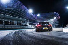 McLaren P1 at Yas Marina for evo magazine