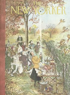 The New Yorker - Saturday, October 20, 1962 - Issue # 1966 - Vol. 38 - N° 35 - Cover by : Mary Petty