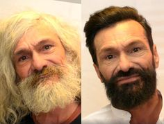 Men Before and After Makeovers | Homeless man given makeover after 25 years living on the streets | The ...