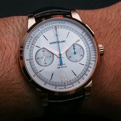 Montblanc Meisterstuck Heritage Chronograph