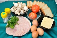 DIY Mega Sandwich for Breakfast Mega Sandwich, Delicious Sandwiches, Dairy, Cheese, Snacks, Eggs, Dishes, Fruit, Cooking