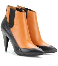 Balenciaga Two-tone Ankle Boots - LoLoBu