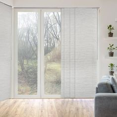 Godear Design Marble Natural Woven Adjustable Sliding Window Panel Track with 23 in. Slates Up to 86 in. W x 96 in. - The Home Depot Sliding Door Coverings, Glass Door Coverings, Patio Door Coverings, Sliding Door Curtains, Sliding Door Window Treatments, Sliding Panels, Kitchen Window Treatments, Sliding Patio Doors, Sliding Windows