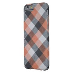 Retro pattern barely there iPhone 6 case - pattern sample design template diy cyo customize
