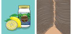 Grijze haren? Meng citroen met kokosolie en krijg dit verrassende resultaat!