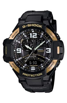 G-Shock 'Gravity Master' Digital Compass Resin Watch, 51mm x 52mm available at #Nordstrom