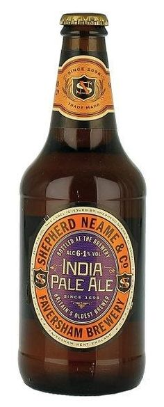 SHEPHERD NEAME INDIA PALE ALE A Shepherd Neame é a cervejaria mais antiga do Reino Unido, produzindo Ales notáveis desde 1698.