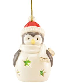 Lenox Light Up Penguin Ornament