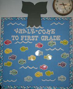 a few cute classroom themes