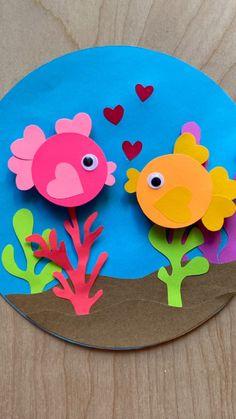 Hand Crafts For Kids, Animal Crafts For Kids, Craft Activities For Kids, Toddler Crafts, Preschool Crafts, Art For Kids, Paper Crafts Origami, Fun Diy Crafts, Paper Crafts For Kids