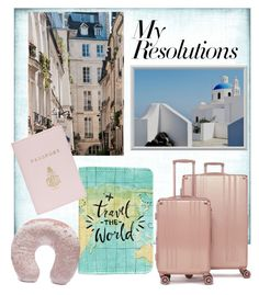 """""""#PolyPresents: New Year's Resolutions"""" by ania-personal-stylist on Polyvore featuring CalPak, Mark Cross, Forever 21, contestentry and polyPresents"""