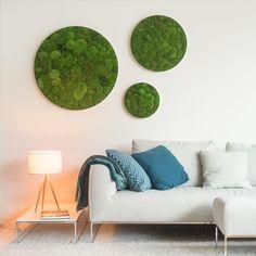 #grün, ganz ohne Wasser und Pflege. #stylegreen #interior #design #green #moos