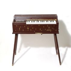 Electric organ. A friend found one of these in the trash a few years back and we had it out on his porch on Halloween and we sat there playing it all night for extra atmosphere.  I really, really wish I'd thought to do that when I had one as a kid.