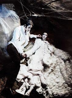 Corpse Bride by Zo Sun Hin for Vogue Korea.