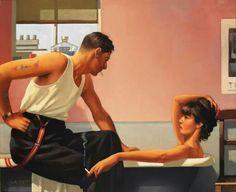 """Bad Boy Blues"" by Jack Vettriano. Jack Vettriano, Bad Boys Blue, Michael Carter, Yoga Hair, Star Students, Hero's Journey, Co Parenting, Human Art, Pulp Art"