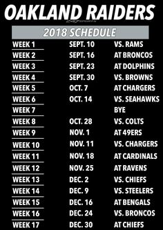 Oakland Raiders Football, Raiders Baby, Oakland Athletics, Pittsburgh Steelers, Indianapolis Colts, Cincinnati Reds, Dallas Cowboys, Chicago Bears Football Schedule, Martial