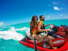 A L I F E T I M E O F A D V E N T U R E S @travelingdorks  #gopro #goprogirl #goprooftheday #hero4silver #goprohero4 #gopronation #actionshot #travelingdorks #jetskiing #turksandcaicos #providenciales #island #adventure #travel #wanderlust #tourism #beach #caribbean #turquoise #composition #capture #nakedplanet #lonelyplanet by moni.cat