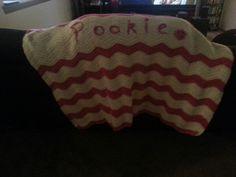 Ripple crochet blanket I made for my sister, Teri