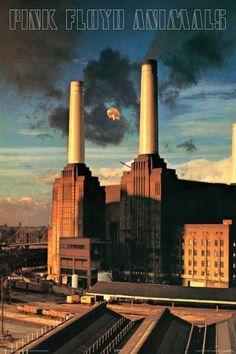 Pink Floyd Animals Poster